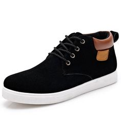 7ceeffc839d4 Men Casual Shoes Cotton High Style