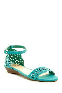 Carrini Embellished Laser sandals #bling # gorgeous #shoes