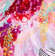 Ballerina - Original Acrylic Painting on Canvas via Etsy