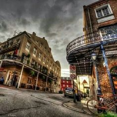 in the New Orleans French Quarter
