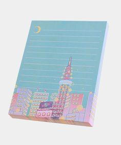 Dreamy Tokyo notepad – Hey Chickadee