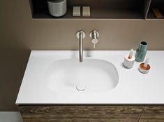 Ovalo Corian® Washbasin Countertop von Inbani | Waschtische