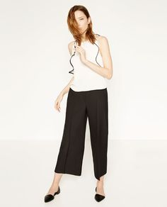 Image 1 of FLOWING CULOTTES from Zara