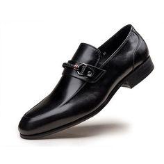 GRIMENTIN Brand wedding mens dress shoes genuine leather slip shoes