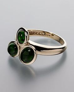 Traumhafter Ring mit funkelndem Chromdiopsid #schmuck #jewellery #sognidoro…