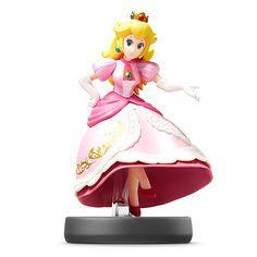 Figure Super Smash Brothers Series Nintendo Wii U 3DS Video Games Peach amiibo #Nintendo
