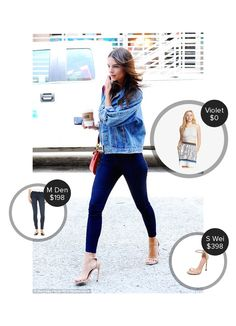 Blogger look from mode.ai