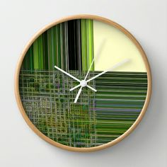 Re-Created Northern #Cross22  #Wall #Clock by #Robert #S. #Lee - $30.00