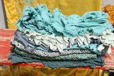 seidenschals handgefärbt aus hamburg PRIVATSACHEN silk layers