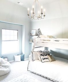 A sophisticated bunk room️Thanks for the tag @mytexashouse... - Home Decor For Kids And Interior Design Ideas for Children, Toddler Room Ideas For Boys And Girls