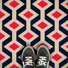 Our Unique Patterned Vinyl Flooring Ranges Help Your Home Stand Out! Exclusive Bright & Bold Colour & Designs To Add Real Individuality & Flair To Any Room. Retro Vinyl Flooring, Vinyl Flooring Bathroom, Vinyl Sheet Flooring, Linoleum Flooring, Kitchen Flooring, Floors, Patterned Vinyl, Patterned Sheets, Patterned Carpet