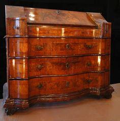 Antique Italian Venetian Bureau 19th Century   eBay