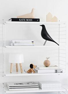 String shelf.
