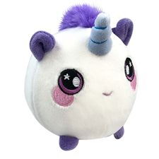Furry Squishies Narwhal Foamed Stuffed Slow Rising Toys Stress Relief Toy Props Soft Squeeze Cute Cell Phone Strap Gift Stress Delicious In Taste Mobile Phone Straps
