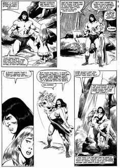 Savage Sword of Conan #73 page 53, in Brian Peck's John & Sal Buscema Comic Art Gallery Room - 991240