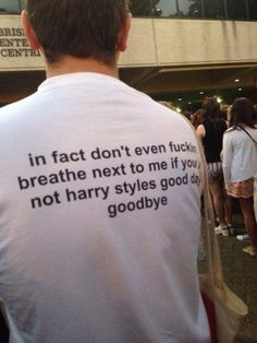 Basically anybody who isn't Harry Styles is just wasting their time bothering you. | 39 Totally Legit Struggles Of Being A One Direction Fangirl