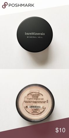 💥FINAL SALE💥 BareMinerals Original Mineral Veil BareMinerals Original Mineral Veil. New, never used. All sales final. Sold as is. No holds, no trades. Colors may vary from screen to screen. bareMinerals Makeup Face Powder