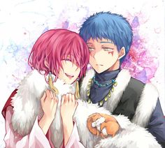 Akatsuki no Yona ♥ (Yona of the Dawn) ♡ Shin-ah and Yona