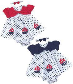 BABY GIRLS NAUTICAL ANCHOR STYLE PINK SUMMER DRESS LEGGINGS SET 0 3 6 9