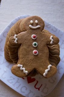 Saying Grace: Soft and Chewy Gingerbread Men