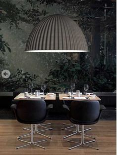 Muuto Under The Bell Pendant Lamp, in stock. 24 hour delivery by Paper Rooms. Authorised Muuto supplier of the whole Muuto Lighting range, including other Muuto Under The Bell pendant lamps, suspension lights and hanging lamps.