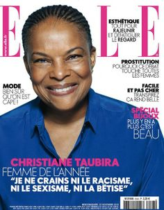 Woman of the Year | Christiane Taubira, French Minister of Justice | ELLE France 22 NOV 13