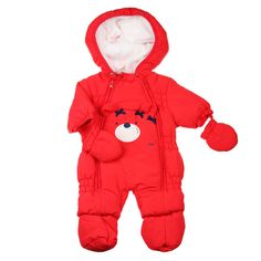 Nieuw bij Kienk:i DO Snowsuit, met afneembare wanten en slofjes erbij. Super schattig in de kleur rood. Lekker warm en cozy. www.kienk.nl kinderkleding en babykleding