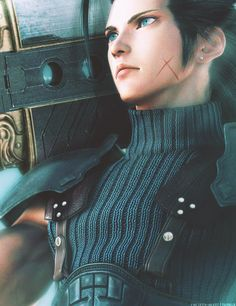 Final Fantasy 7 Crisis Core   Zack Fair