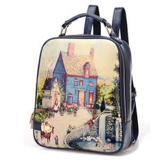 Leisure  Pattern Fashion Summer  College Backpacks