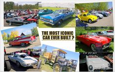 What's the most iconic car ever built? Read this to find out- http://mystarcollectorcar.com/we-pick-the-most-iconic-car-in-automotive-history/