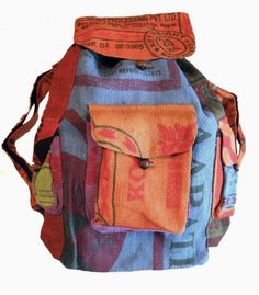 Mochila Hippie, Hippie Backpack, Hippie Mom, Aesthetic Backpack, Recycling, Colorful Backpacks, Unique Backpacks, Rice Bags, Thing 1