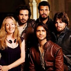 awesome The cast of The Musketeers with executive producer...   The Musketeers Check more at http://kinoman.top/pin/27754/