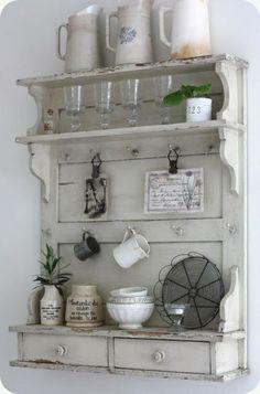 Shabby Shic Möbel mit vintage Look - Beispiele und DIY Ideen ...