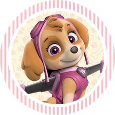 Paw Patrol for Girls: Free Printable Kit. Paw Patrol Games, Sky Paw Patrol, Paw Patrol Party, Emoji 2, Party Kit, Party Packs, Party Ideas, Imprimibles Paw Patrol, Paw Patrol Birthday Girl