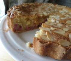 Raspberry Bakewell tart — HOWARD MIDDLETON Free Gf, Bakewell Tart, Gbbo, Low Fodmap, Gluten Free Baking, Plant Based Recipes, Raspberry, French Toast, Food And Drink