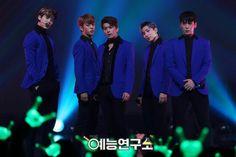 Zelo, Daehyun, Youngjae, Jongup, and Himchan