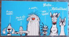 Roba - carte de voeux - Boule et Bill - (1989/1992) - W.B.