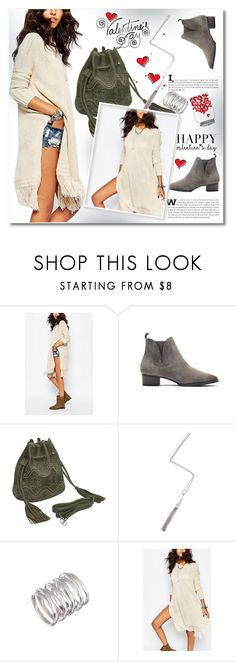 """""""Valentine's Day"""" by svijetlana ❤ liked on Polyvore featuring women's clothing, women, female, woman, misses, juniors, valentinesday, polyvoreeditorial, polyfriends and yoins"""