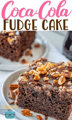 Factors You Need To Give Thought To When Selecting A Saucepan Cracker Barrel Double Fudge Coca-Cola Cake Recipe From The Country Cook Cake Mix Recipes, Dessert Recipes, Cake Mixes, Catering, Coca Cola Cake, Food Porn, Chocolate Fudge Cake, Cake Tasting, Country Cooking