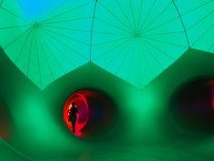 Architects of Air's beautiful 'luminaria' Green Room