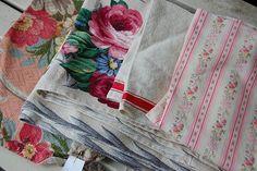 ... vintage fabric...