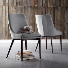 Sullivan Dining Chair - Grey (Set of 2) : Target