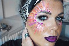 Face Paint Festival Makeup + Tutorial.