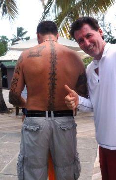 a true chiropractic fan...