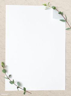 Framed Wallpaper, Flower Background Wallpaper, Flower Backgrounds, Background Patterns, Wallpaper Backgrounds, Food Background Wallpapers, Paper Wallpaper, Background Templates, White Background Plain