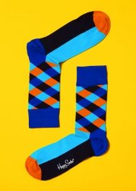 Happy Socks Strips...Just arrived at our new men's store Whiskey Tango 1977!!!