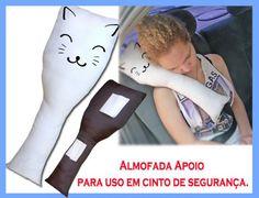 Pacote com 5 unidades de Almofada usada poio para uso em cinto de segurança com…
