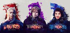 Gorgeous Game of Thrones Posters by Adam Spizak - My Modern Metropolis