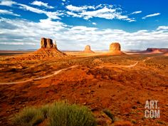 Landscape - Monument Valley - Utah - United States Photographic Print by Philippe Hugonnard at Art.com