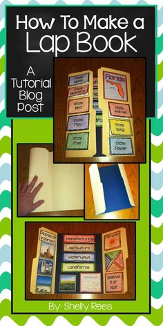 How to make a lap book - photo examples and directions for a simple lap boo Social Studies Projects, 5th Grade Social Studies, Teaching Social Studies, Teaching Resources, Teaching Ideas, Social Studies Classroom, Social Studies Activities, Lap Book Templates, Book Report Templates